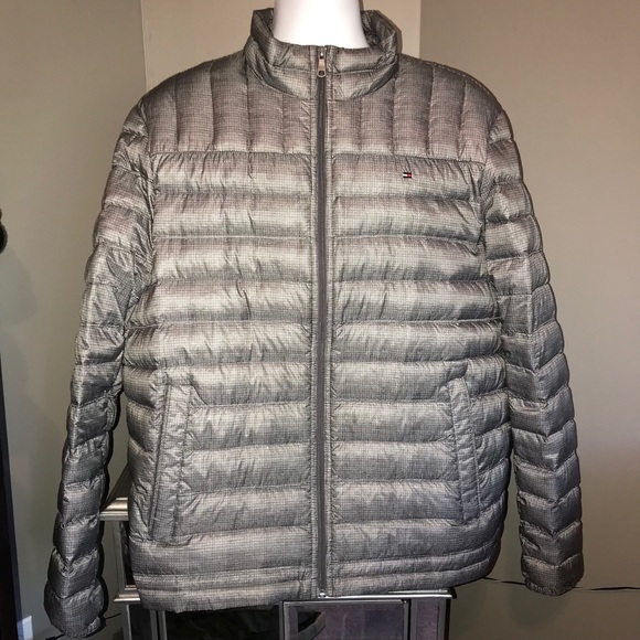Tommy Hilfiger Other - Tommy Hilfiger Gray Down Puffer Coat XL